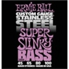 Басовые cтруны Ernie Ball 2844 Stainless Steel Super Slinky Bass