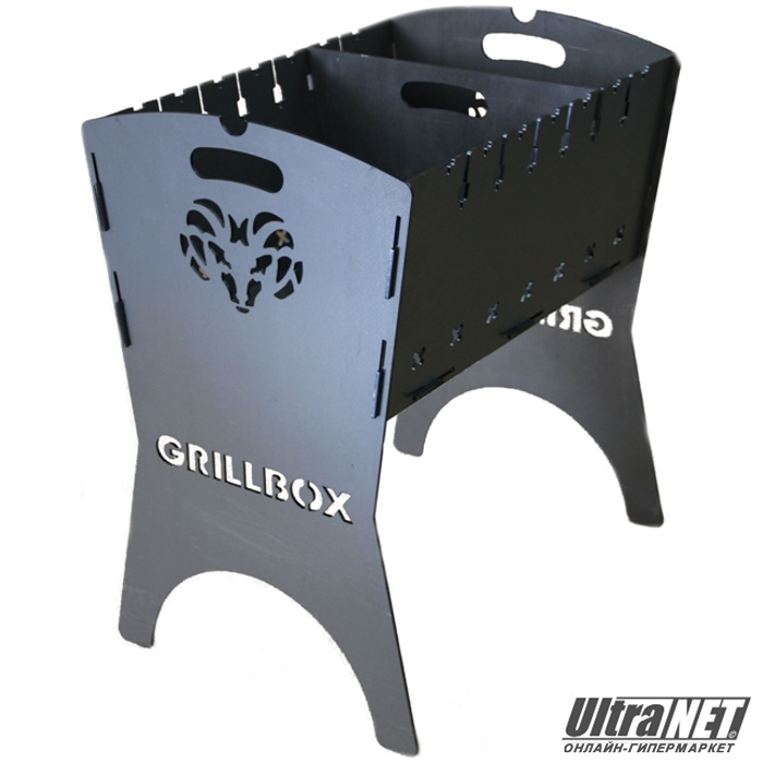 Мангал Grillbox (Hunter) с перегородкой